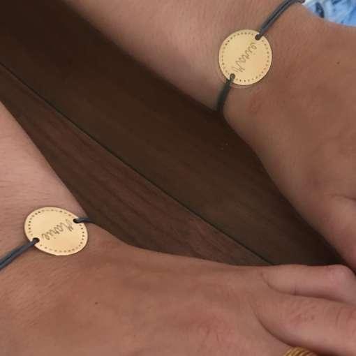 Bracelets gravés