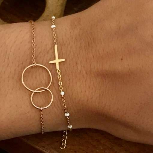 bracelet gravé bracelet gravure anglaise bracelet médaille gravée bracelet médaille écriture bracelet personnalisé