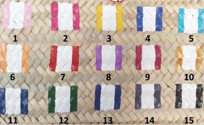 couleurs paniers