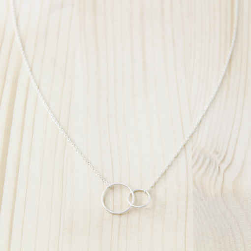 collier argent massif