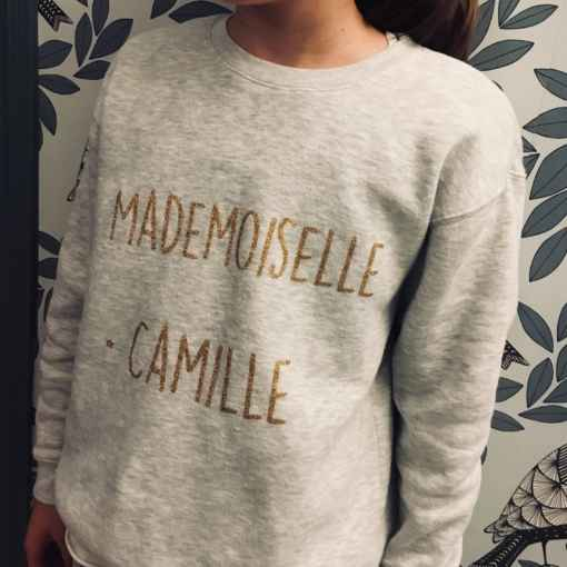 sweat mademoiselle camille
