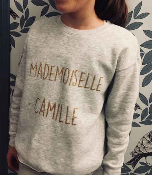 sweat mademoiselle camille