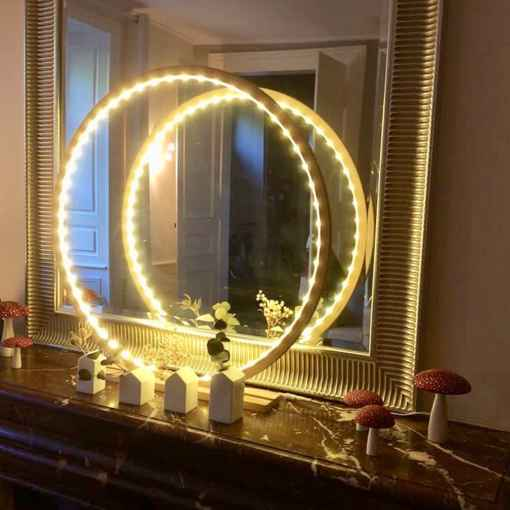 Lampes cercle