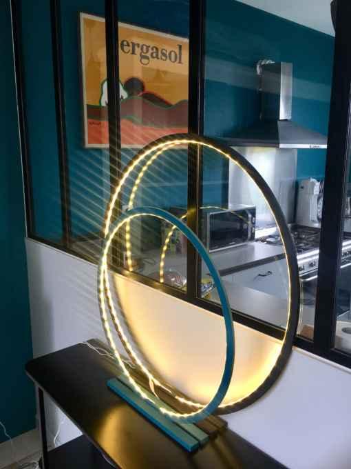 lampe cercle