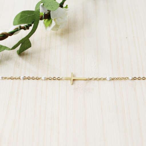 Bracelet chaîne catho