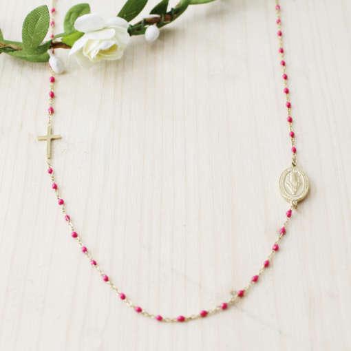 Coliiers perles catho